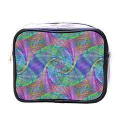 Spiral Pattern Swirl Pattern Mini Toiletries Bags by Nexatart