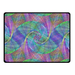 Spiral Pattern Swirl Pattern Fleece Blanket (small) by Nexatart
