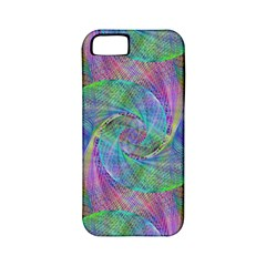 Spiral Pattern Swirl Pattern Apple Iphone 5 Classic Hardshell Case (pc+silicone)