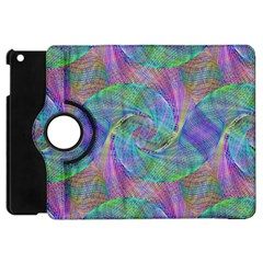Spiral Pattern Swirl Pattern Apple Ipad Mini Flip 360 Case
