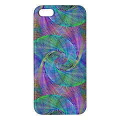 Spiral Pattern Swirl Pattern Apple Iphone 5 Premium Hardshell Case by Nexatart