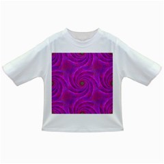 Pink Abstract Background Curl Infant/toddler T Shirts