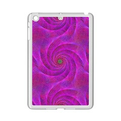 Pink Abstract Background Curl Ipad Mini 2 Enamel Coated Cases by Nexatart