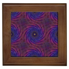 Pattern Seamless Repeat Spiral Framed Tiles by Nexatart