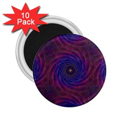 Pattern Seamless Repeat Spiral 2 25  Magnets (10 Pack)