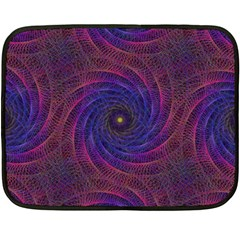 Pattern Seamless Repeat Spiral Double Sided Fleece Blanket (mini)  by Nexatart