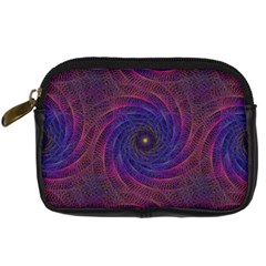 Pattern Seamless Repeat Spiral Digital Camera Cases