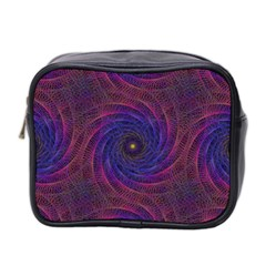 Pattern Seamless Repeat Spiral Mini Toiletries Bag 2-side by Nexatart