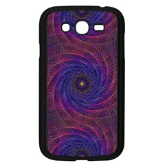 Pattern Seamless Repeat Spiral Samsung Galaxy Grand Duos I9082 Case (black)