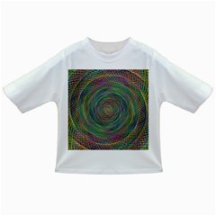 Spiral Spin Background Artwork Infant/toddler T Shirts
