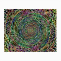 Spiral Spin Background Artwork Small Glasses Cloth by Nexatart