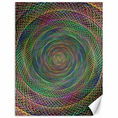 Spiral Spin Background Artwork Canvas 12  X 16