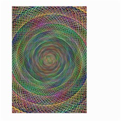Spiral Spin Background Artwork Large Garden Flag (two Sides) by Nexatart