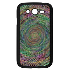 Spiral Spin Background Artwork Samsung Galaxy Grand Duos I9082 Case (black) by Nexatart