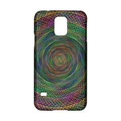 Spiral Spin Background Artwork Samsung Galaxy S5 Hardshell Case  by Nexatart