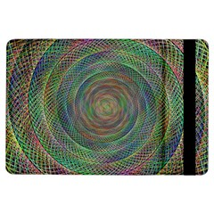 Spiral Spin Background Artwork Ipad Air Flip by Nexatart