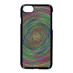 Spiral Spin Background Artwork Apple Iphone 7 Seamless Case (black)