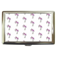 Sweet Flamingo Pattern Cigarette Money Cases by MoreColorsinLife