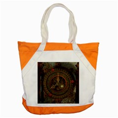 Steampunk, Awesome Clocks Accent Tote Bag by FantasyWorld7