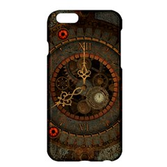 Steampunk, Awesome Clocks Apple Iphone 6 Plus/6s Plus Hardshell Case by FantasyWorld7