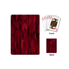 Abstract 1 Playing Cards (mini)  by tarastyle