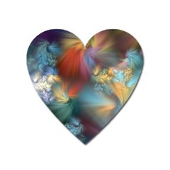 Evidence Of Angels Heart Magnet by WolfepawFractals