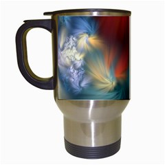 Evidence Of Angels Travel Mugs (white) by WolfepawFractals