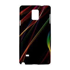 Rainbow Ribbons Samsung Galaxy Note 4 Hardshell Case