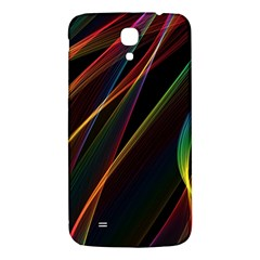 Rainbow Ribbons Samsung Galaxy Mega I9200 Hardshell Back Case by Nexatart