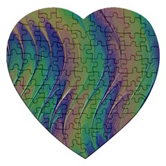 Texture Abstract Background Jigsaw Puzzle (heart) by Nexatart