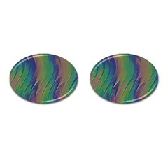 Texture Abstract Background Cufflinks (oval) by Nexatart
