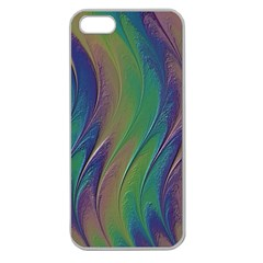 Texture Abstract Background Apple Seamless Iphone 5 Case (clear)