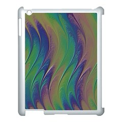 Texture Abstract Background Apple Ipad 3/4 Case (white) by Nexatart