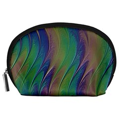 Texture Abstract Background Accessory Pouches (large)  by Nexatart