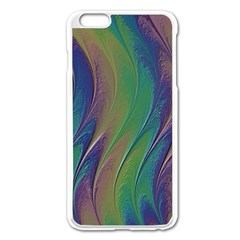 Texture Abstract Background Apple Iphone 6 Plus/6s Plus Enamel White Case by Nexatart