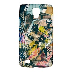Art Graffiti Abstract Vintage Galaxy S4 Active by Nexatart