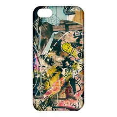 Art Graffiti Abstract Vintage Apple Iphone 5c Hardshell Case by Nexatart