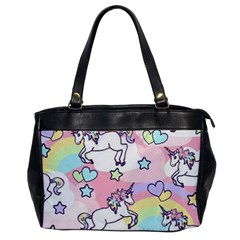 Unicorn Rainbow Office Handbags by Nexatart