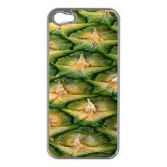 Pineapple Pattern Apple Iphone 5 Case (silver) by Nexatart