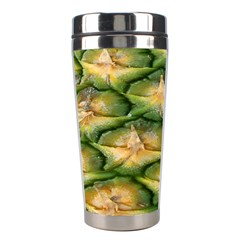 Pineapple Pattern Stainless Steel Travel Tumblers by Nexatart