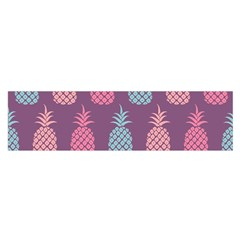 Pineapple Pattern Satin Scarf (oblong) by Nexatart
