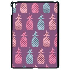 Pineapple Pattern Apple Ipad Pro 9 7   Black Seamless Case