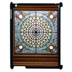 Stained Glass Window Library Of Congress Apple Ipad 2 Case (black) by Nexatart