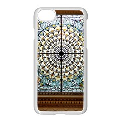 Stained Glass Window Library Of Congress Apple Iphone 7 Seamless Case (white)