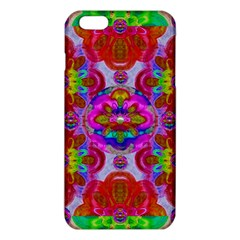Fantasy   Florals  Pearls In Abstract Rainbows Iphone 6 Plus/6s Plus Tpu Case by pepitasart