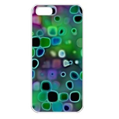 Psychedelic Lights 1 Apple Iphone 5 Seamless Case (white) by MoreColorsinLife