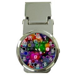 Psychedelic Lights 2 Money Clip Watches by MoreColorsinLife