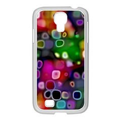 Psychedelic Lights 2 Samsung Galaxy S4 I9500/ I9505 Case (white) by MoreColorsinLife