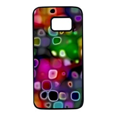 Psychedelic Lights 2 Samsung Galaxy S7 Black Seamless Case by MoreColorsinLife
