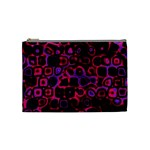 Psychedelic Lights 3 Cosmetic Bag (Medium)  Front